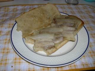 Bocadillo de Bacon con queso (revisión)