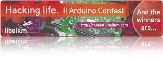 Ganador del tercer premio en el Arduino Contest 2009