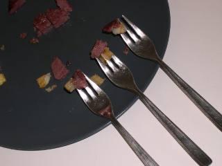 Los tres tenedores.